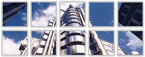 Exterior of Lloyds Building